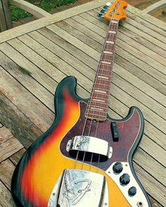 Follow @kw3hmd on Instagram: From: @fendertintin -  1966 Fender Jazz Bass #fender #Regrann