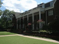 Alpha Gamma Delta House @ OU, one of the best rooms I lived in was above the front door~my roommate & I overheard way too much, LOL