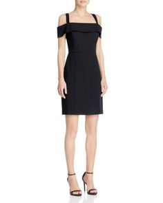 a5f61e244c6 Rebecca Minkoff Cairo Cold Shoulder Dress Women - Dresses - Cocktail   Party  - Bloomingdale s