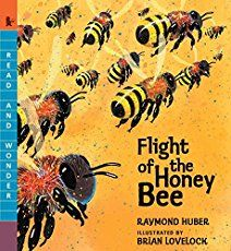 Flight of the Honey Bee (Book) : Huber, Raymond : Demonstrates how Scout the bee searches for nectar to sustain her hive and pollinates flowers to produce seeds and fruits. Bee Book, Bee Supplies, Bee Free, Wonder Book, Bee Keeping, Childrens Books, Kid Books, Illustration, Amazon