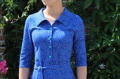 Fiekemaakt: Louise jurk in zonen09-stofje