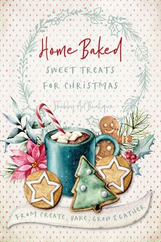 8 quick & easy home baked sweet treats for Christmas morning from the Create, Bake, Grow & Gather party at Shasbby Art Boutique Handmade Christmas, Christmas Diy, Christmas Decorations, Apple Spice Cake, Christmas Tree Inspiration, Christmas Morning Breakfast, Apple Roses, Meaning Of Christmas, Food Festival