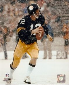 Nothing says Pittsburgh live Bradshaw in the snow.