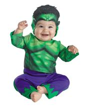 About Costume Shop Incredible Hulk Costume - Hulk Infant CostumeIncredible Baby Hulk!Costume includes: Green bodysuit with purple pants and a Hulk character hood. Available size: Infant months.This is an officially licensed Hulk costume. Hulk Halloween Costume, Baby Boy Halloween, Toddler Costumes, Boy Costumes, Super Hero Costumes, Costume Ideas, Halloween 2016, Family Halloween
