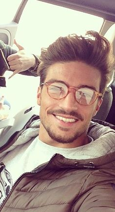 Mariano Di Vaio gorgeous (these are like my glasses, but he looks a lot better) | Raddest Looks On The Internet http://www.raddestlooks.net If you love my pins feel free to follow them!
