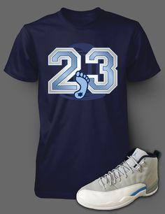 80cb5623451e8a Wrecking  T-Shirts 15687 Shirt To Match Air Jordan Retro 5 Blue Suede  Sneakers.