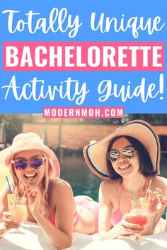 Looking for some totally unique ideas for your upcoming bachelorette party trip? Check out our go-to guide for fun and unique activities to do with your squad! #bachelorettepartyideas #bachelorettepartyactivityguide #uniquebachelorettepartyideas