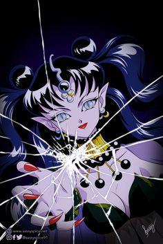 'Queen Nehelenia ~ Dead Moon Circus ~ Sailor Moon' Poster by SassySpice Old Anime, Anime Manga, Sailor Moom, Darien Sailor Moon, Sailor Jupiter, Sailor Venus, Sailor Moon Villains, Vintage Circus Posters, Sailor Moon Wallpaper