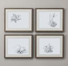 dumbo sketches framed :)