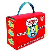 Thomas & Friends My Red Railway Book Box Set