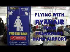 Flying with Ryanair from Frankfurt-Hahn