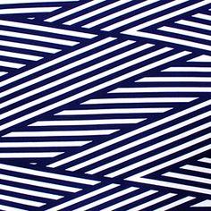Girl Charlee fabrics: Navy Blue Nautical Flag Ponte de Roma Fabric