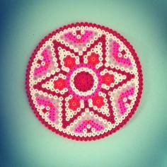 Mandala hama perler beads by annepovlsen