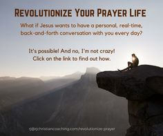 Learn how to have personal, back-and-forth, real-time conversations with Jesus. Tony Stoltzfus