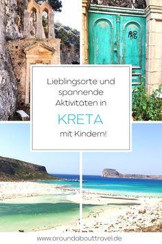 Wenn wir #Kreta mit #Kindern in zehn Wörtern beschreiben müssten, würden uns einfallen: Sonne, Strände, Berge, Schluchten, Kapellen, Klöster, Olivenbäume, Ziegen, Katzen und duftendes Souflaki.