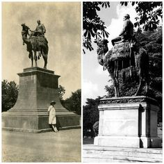 Statue of General Gordon, Khartoum.  Statues were erected in Trafalgar Square, London, in Chatham, Gravesend, Melbourne and Khartoum. Southampton, where Gordon had stayed with his sister, Augusta, in Rockstone Place prior to his departure to the Sudan, erected a memorial in Porter's Mead, now Queen's Park, near the town's docks.