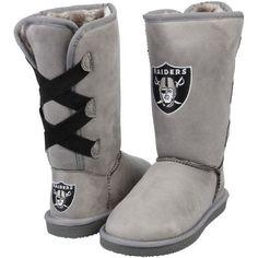 Women's Oakland Raiders Cuce Conqueror Boots