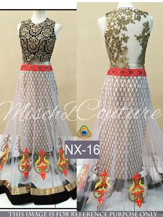 Rozdeal White And Brown Lehenga Choli With Fancy Blouse. STYLE: Designer Lehenga FABRIC: Nylon Net WORK: Thread Work, Hand Work COLOUR: Brown, White OCCASION: Party, Wedding, Reception DUPATTA FABRIC: Nylon Net BLOUSE FABRIC: Row Silk & Net INNER FABRIC: Brocate