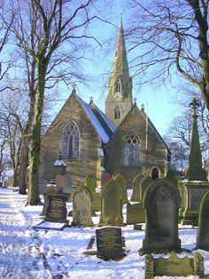 The Parish Church of St Thomas Musbury, Helmshore, Haslingden, Rossendale, Lancashire    (by Robert Wade)    Helmshore, England