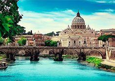 Puzzle Trefl Puente de Sant' Angelo de 1000 Piezas