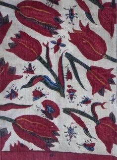 KOWATARI INDIAN SARASA CHINTZ ・ 手描き日本古渡り印度更紗