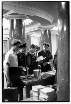 Henri Cartier-Bresson - Moscow. 1954. Moscow State University.