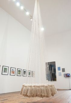 Dominique Edwards, 'Tassel' (2015), Mop yarn, 600 x 100 x 105cm