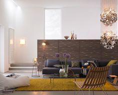 Skandinavischer Glamour im Wohnzimmer