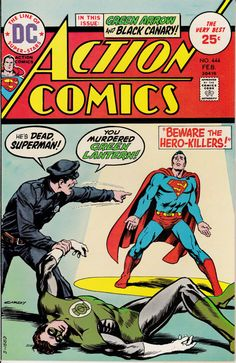Action Comics 1938 DC 444  February 1975 Issue  DC by ViewObscura