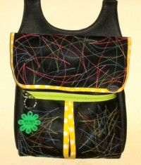 This unique Gadabout was created by Enisa Durakovic and was entered in our June 2014 Handbag of the Month contest!  :)