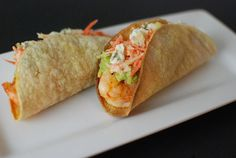 Buffalo Shrimp Tacos