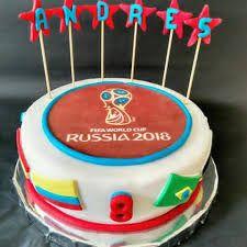 Resultado de imagen para tortas modelo mundial rusia 2018 Fondant, Russia 2018, Cupcakes, Birthday Cake, Party, Desserts, Food, Russia, Food Cakes