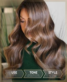 Chocolate Brown Hair Color, Brown Hair Colors, Hair Colour, Hair Color Formulas, Colored Hair Tips, Hair Toner, Hair Color Techniques, Beauty Recipe, Brunette Hair