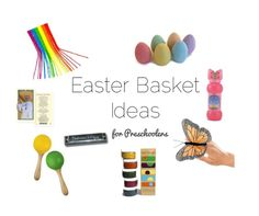 two Os + more: 30 Last Minute Easter Basket Fillers and what is going in our baskets this year