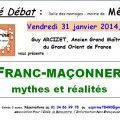 Franc Maçonnerie : Mythes et réalités avec Guy Arcizet