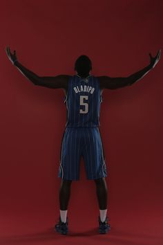 Victor Oladipo at Rookie Photo Shoot   THE OFFICIAL SITE OF THE ORLANDO MAGIC    -- #VictorOladipoNBA