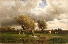 Willem Roelofs, Cows under Trees, c. 1860.jpg