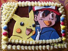 Recetas a la Verónica: Tarta Doble Ganaché Pikachu y Ash