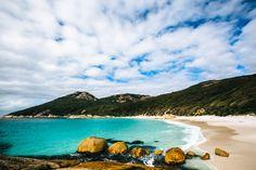 Two Peoples Bay, Albany  www.parkmyvan.com.au #ParkMyVan #Australia #Travel #RoadTrip #Backpacking #VanHire #CaravanHire