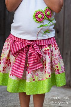 Belle Easy Twirl Skirt Pattern Boutique  by  by spiceberrycottage, $10.00