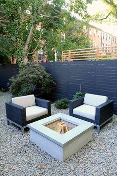 Brook Landscape - CLINTON HILL - brooklyn-brownstone-garden-chairs