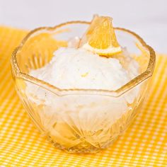 Sitruunasorbetti