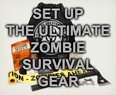 Zombie Apocalypse Survival Gear http://zombiesurvivaltricks.com/zombie-apocalypse-survival-gear/