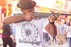 Schueberfouer collection (Men's T-Shirt by American Apparel) >>> www.iloveluxembourg.lu