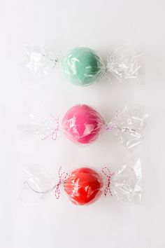 diy christmas candy ornaments   images | Ok, but really, those colors!!!