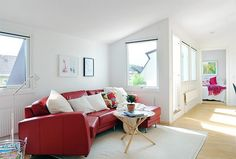 Fab red sofa