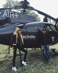 "30.4k Likes, 57 Comments - elsa hosk (@hoskelsa) on Instagram: ""Me and David Fridlevski ready to board the @biotherm  airlines destination mountains!! """