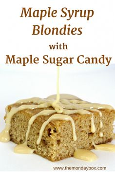 Is the best on pinterest maple syrup maple cookies and maple bars