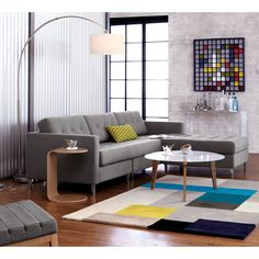 $199 big dipper arc floor lamp in floor lamps | CB2