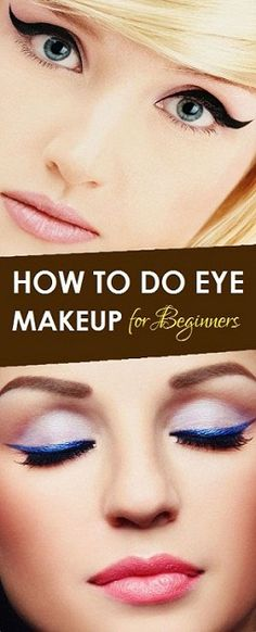 If you are a beginner and you want to experiment with various types of makeup. Here is step by step information on how to do eye makeup?
